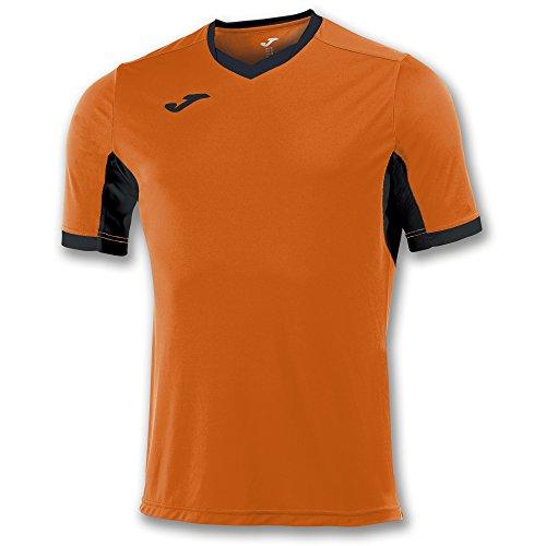 Joma Champion IV M/C Camiseta Equipamiento, Hombres, Naranja/Negro, S