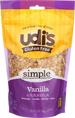 UDIS GLUTEN FREE FOODS Vanilla Granola Bag, 11 OZ