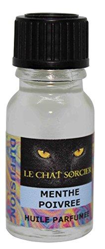 Le Chat Sorcier - Huile Parfumée - Menthe Poivrée (10ml)