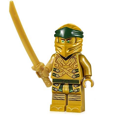 LEGO Ninjago Minifigur: Lloyd (Golden / Goldener Ninja) - Legacy