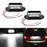 LivTee Waterproof 12V LED License Plate Lamp Light for Truck SUV Trailer Van, Step Courtesy Lights, Dome/Cargo...