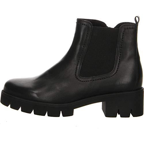 Gabor Damen Chelsea Boots Größe 37 EU Schwarz (schwarz)