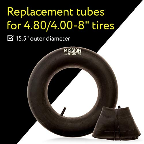 Mission Automotive 2-Pack of 4.80/4.00-8