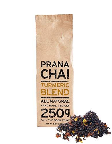 Prana Chai TURMERIC Blend 250 g - All-Natural, no sugars, no syrups, no concentrates, no preservatives. Only The Good Stuff