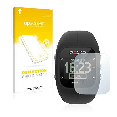 upscreen Entspiegelungs-Schutzfolie kompatibel mit Polar A300 – Anti-Reflex Bildschirmschutz-Folie Matt