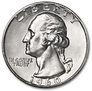 1960 D Washington Quarter BU Quarter Brilliant Uncirculated