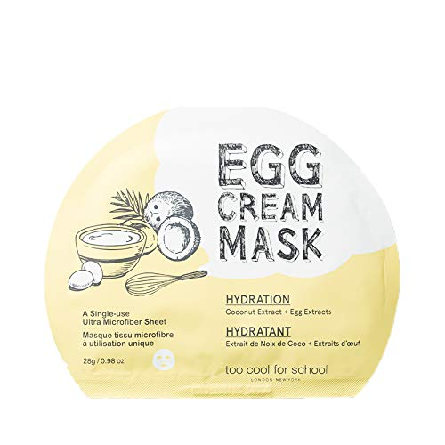 Too Cool For School Egg Cream Mask Hydration, 1 Count