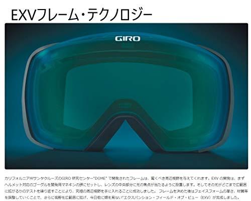 GIRO(ジロ)スキースノーボードゴーグルメソッドくもり止め加工アジアンフィットLAVA7106052