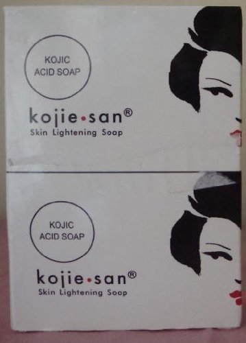 KOJIE SAN SOAP, ALL VARIANTS, FREE SHIPPING (SKIN LIGHTENING SOAP 2X135GRAMS) by Kojie San