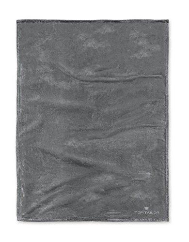 Tom Tailor Superflausch Decke, Dunkelgrau Größe 150 x 200 cm