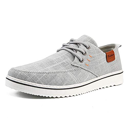Leisure, Easy to Match, trendy turnschoenen voor mannen, linnen, skater, schoenen, casual, lage top, comfortabele doek, walking, sportschoenen, veters, ronde kap, duurzaam slijtvast, modieuze sneakers voor heren