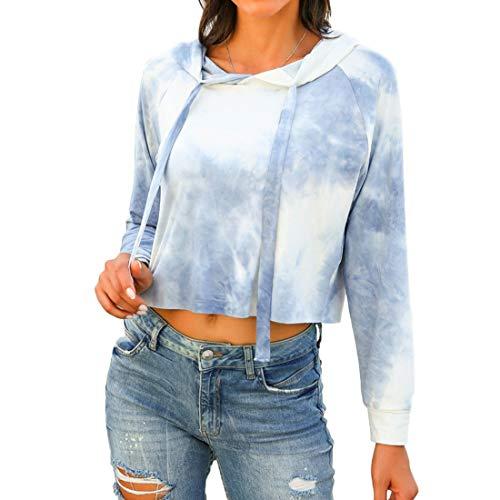 Yczx Damen Hoodie Langarm Sweatshirts Kapuzenpullover Bluse Oberteile Gedruckte Mode...