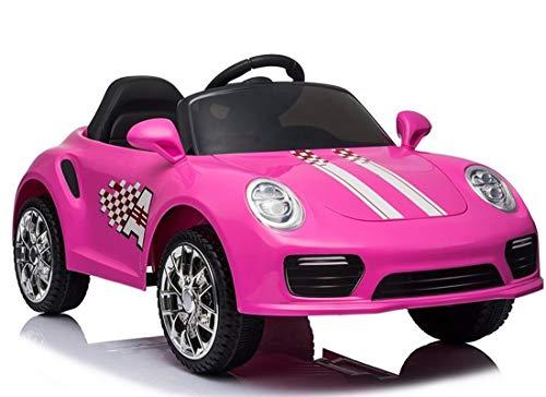 Kinder Elektroauto Pink Sport Cabrio Racer rosa 12V Kinderfahrzeug Kinderauto elektrisch