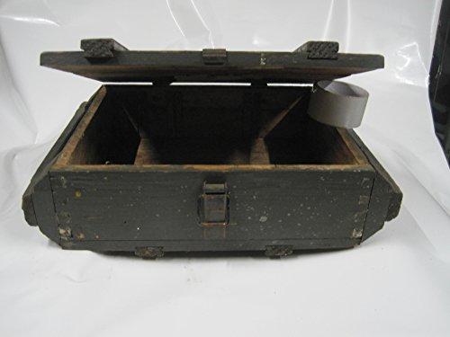 Waffenkiste f.Handgranaten Holzkiste Militär Shabby Chic Vintage Weinkiste Tisch