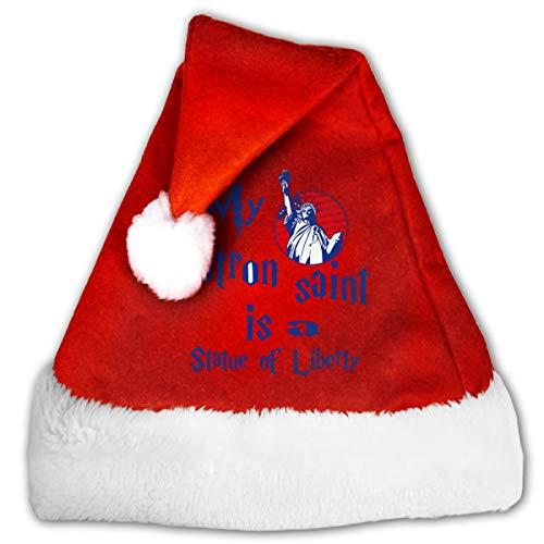 Gli adulti festa di Natale indossare di lusso al tatto Babbo Natale Cappello Da Uomo Santa Claus Cappello Accessorio