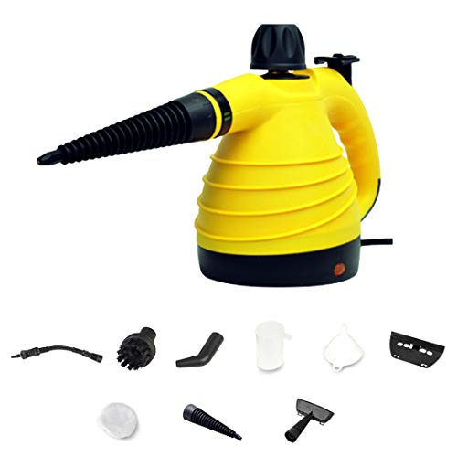 Sale!! LTLWSH Handheld Steam Cleaner Pressurized Multi-Purpose with 9-Piece Accessory Kit for Stain ...