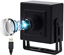 USB Camera 8MP USB Webcam Mini Camera,High Definition 2448P USB with Cameras,Wide Angle 180 Degree Fisheye Lens Cameras US...