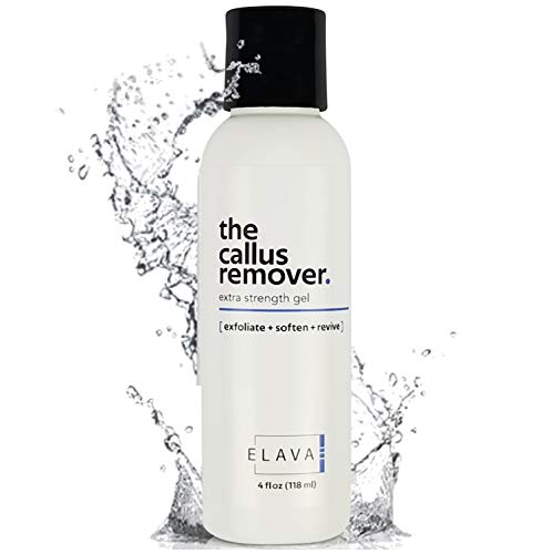 Price comparison product image Elavae Callus Remover Gel Extra Strength. Works well with foot scrubber,  file,  pumice stone and other favorite pedicure tools. Achieve foot spa professional results in minutes!
