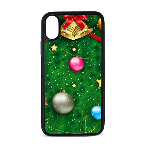Outdoor Christmas Decor Ornament iphoneX case Mobile Phone Shell Printing Edge Fashion