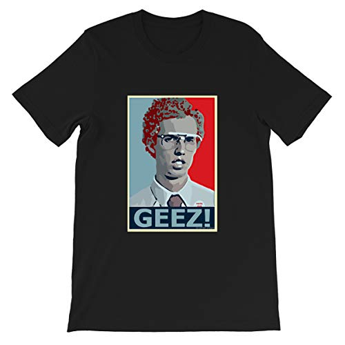 Napoleon Dynamite #Jon #Heder Geez Retro #Efren #Ramirez Movie tee Gifts Funny Mens Womens T-Shirt (Black-L)