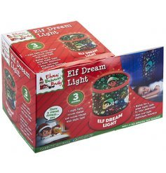 Elves Behaving Badly Elf Dream Light - Light Up Night Light - Christmas Lights