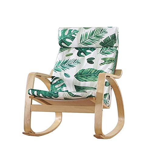 Adult Siesta Rocking Chair Rocking Zero Gravity Rocking Chair,Outdoor Wide Recliner Portable Lounge Chair,Camping Fishing Beach Poolside Home Armchair