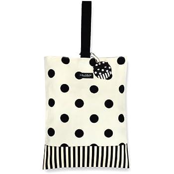 シューズケース(リバーシブル) polka dot large(twill・white) 上履き入れ 入園グッズ 小学校入学準備 上履き袋 N3155310