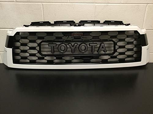Genuine Toyota Sequoia TRD PRO 040 White Grill PT363-0C200-WT (Fits: 2018 and Newer Sequoia)