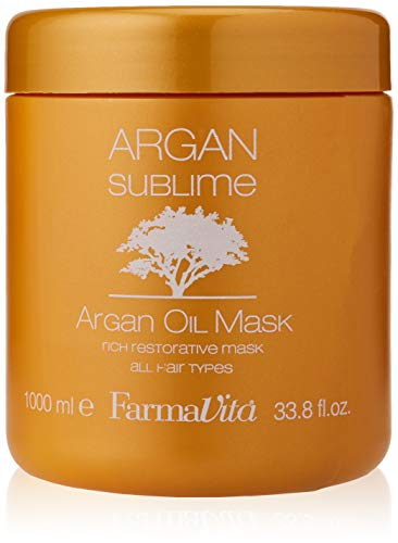 Farmavita Maschera per Capelli Argan Sublime - 1000 ml