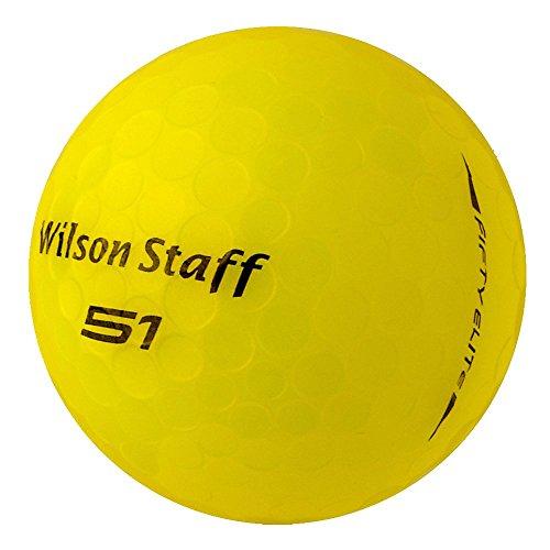 PEARL GOLF Wilson Fifty Elite 2016 PearlSelection - AAAAA - gelb - gebrauchte Golfbälle - 25 Lake Balls