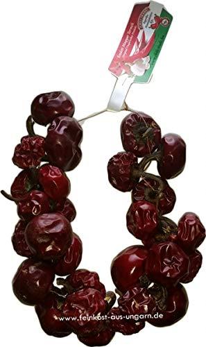 CHILI-TRADE | Kirschpaprikakranz (getrocknete Kirsch-Paprikakette) klein