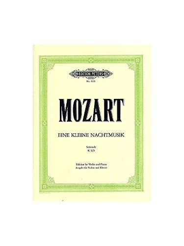 Eine Kleine Nachtmusik G-Dur KV 525. Violine, Klavier