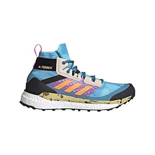 adidas Zapatilla Terrex Free Hiker W, Botas de Senderismo Mujer, HAZSKY/HAZORA/SCRPNK, 38 EU