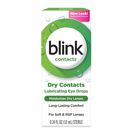 Amo Blink Contacts Lubricating Eye Drops, 2 Count (10 ml each)