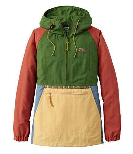 L.L.Bean(エルエルビーン) ウィメンズ マウンテン・クラシック・アノラック マルチカラー ジャパン・フィット Mサイズ Cactus/Mustard マルチカラー 1000025228