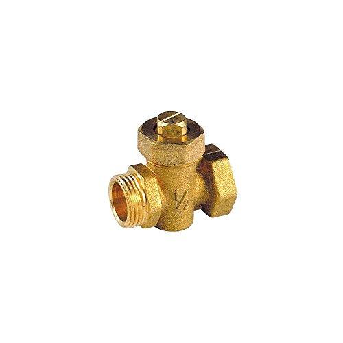 IDROSFER NEGRI S.R.L Kit Robinet thermostatique avec coude de r/églage 15x21 et purgeur