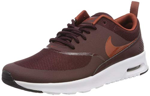 Nike Women's Air Max Thea Fitness Shoes, Red (Burgundy Crush/Burnt Orange-Bl 615), 5 UK
