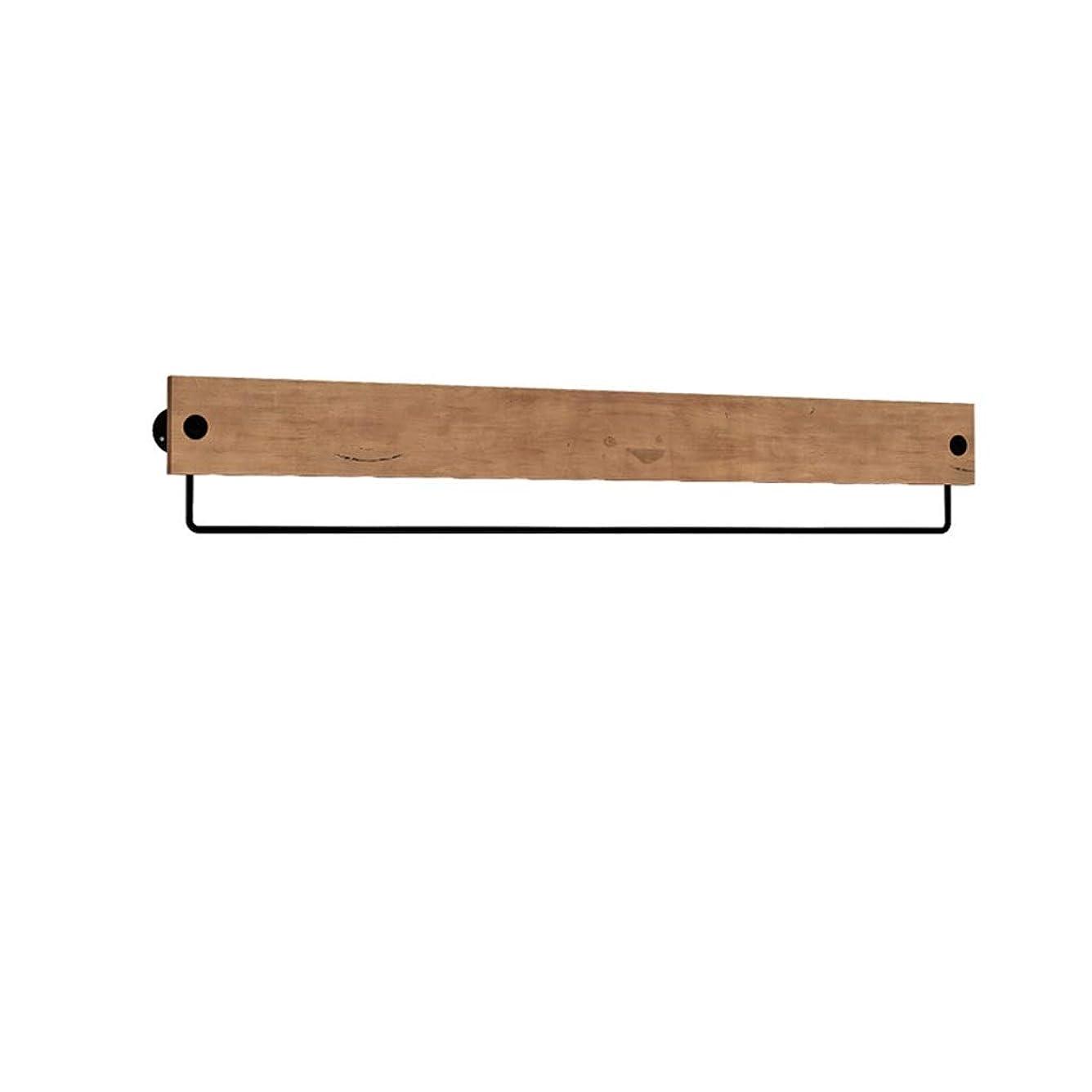 スノーケルビット誘発するヴィンテージアイアンウッドコートラックウォールハンガーのU字型フックリビングルームベッドルームウォールラック耐久性/錆/リムーバブル/ブルー、ブラウン、グリーン、ホワイト(60cm、80cm、100cm、120cm) (色 : 青, サイズ さいず : 80cm)