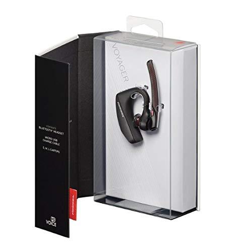 Plantronics Voyager 5200 (203500-105) Auriculares Bluetooth con Gancho de sujeción, sin Ladeetui