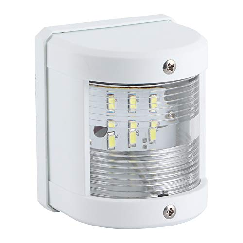 Longzhou 12V/24V 135 Grados luz de señal de Barco 5W IP66 LED lámpara de mástil de navegación Apta para Yates de Pesca cruceros