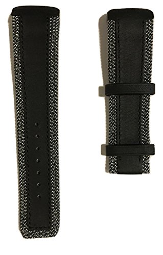 Tissot T-Touch Expert Solar Black Leather w/Stitching Strap [Check for T091420 from The Back of Watch]
