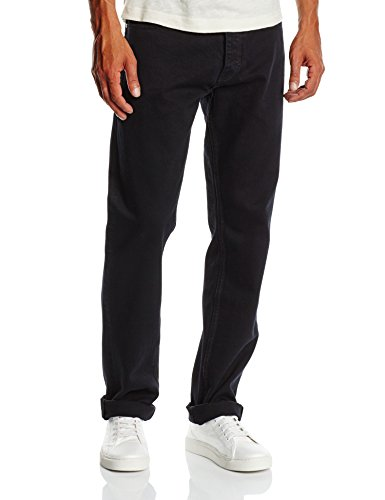 Dickies Herren Straight Leg Jeanshose Michigan, Gr. W38/L34 (Herstellergröße: 38T), Schwarz (Black BK)