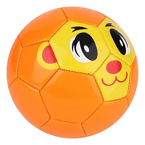Biitfuu Kids Soccor Ball mit 5,1 Zoll orangefarbenen Fußball-Übungssportgeräten für Kinder im Außen- oder Innensport
