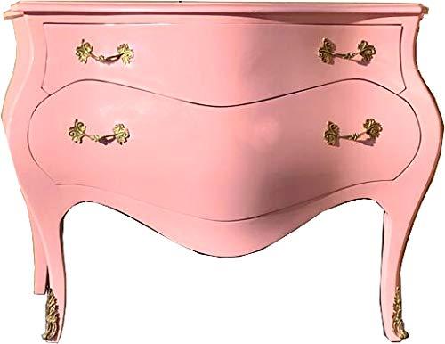 Casa Padrino Cómoda barroca 120 cm Rosa/Oro - aparadores