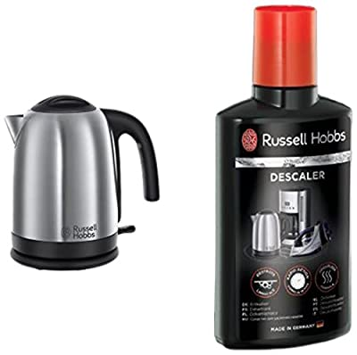 Russell Hobbs 20070 Cambridge Kettle, 1.7 L, 3000 W - Brushed Stainless Steel Silver