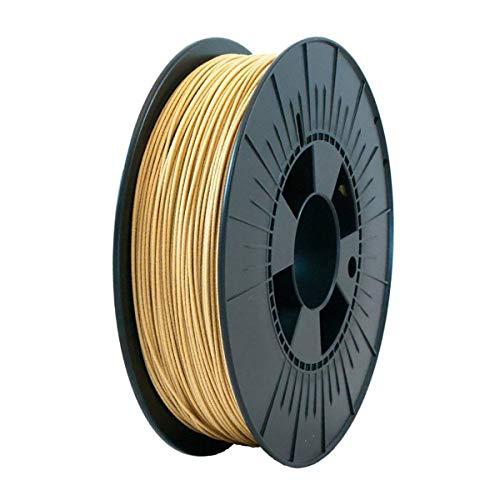 ICE FILAMENTS ICEFIL1WOO206 WOOD Filament für 3D-Drucker, 1,75 mm, 0,50 kg, Original Oak