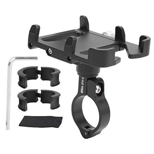 Suporte para telefone de bicicleta, suporte giratório de 360 ° para telefone, preto para bicicletas dobráveis Bicicletas de estrada ao ar livre