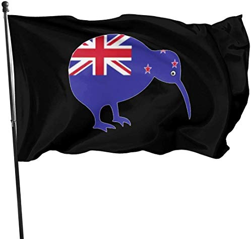 N/A USA Guard Vlag Banner Tuinvlaggen Zeeland Kiwi Vogel Zomer Warming Yard voor Festival Outdoor Patio Sport Decoratie Voet