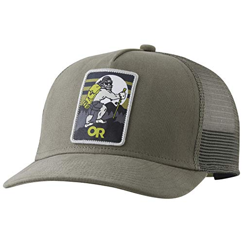 Outdoor Research Squatchin' Trucker Cap, Cafe, ONE Size