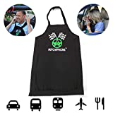 AutoAprons Adult Car Bib for Men and Women | Car Interior and Clothing Protector Apron for Eating Food on the Go | Road Trip Travel Essentials | Accessories for Semi Truck and Professional Drivers